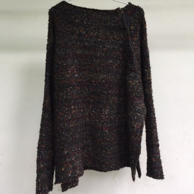 pull n bear loose knitwear