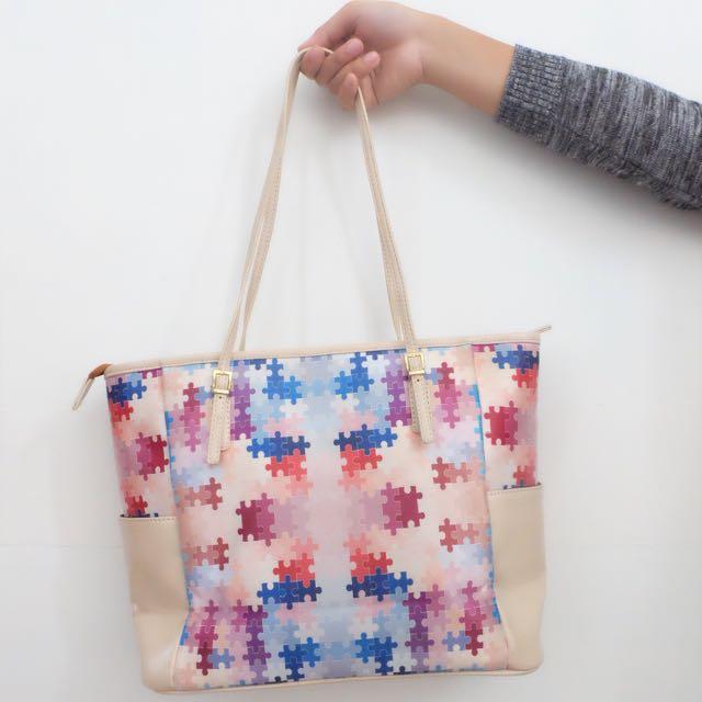 Puzzle Bag By Jadebag