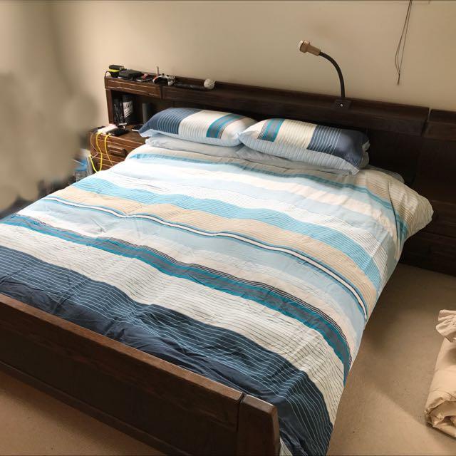 Queen Bed & Mattress