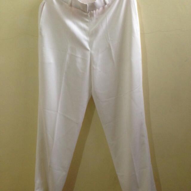 Rafidain White Trouser Size M