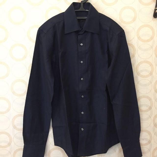 Raoul Navy Blue Shirt