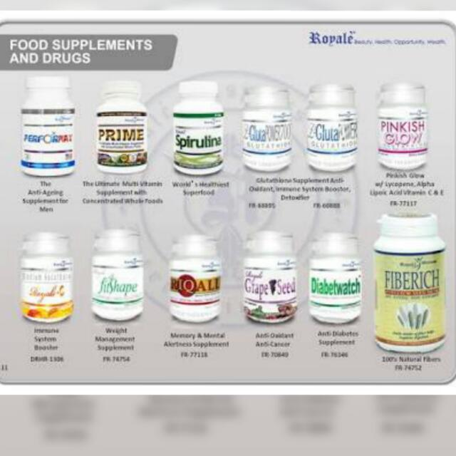 Royale Food Supplements