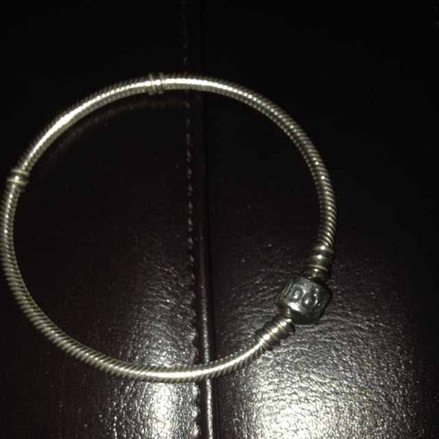 "Silver Pandora 7.5"" Bracelet"