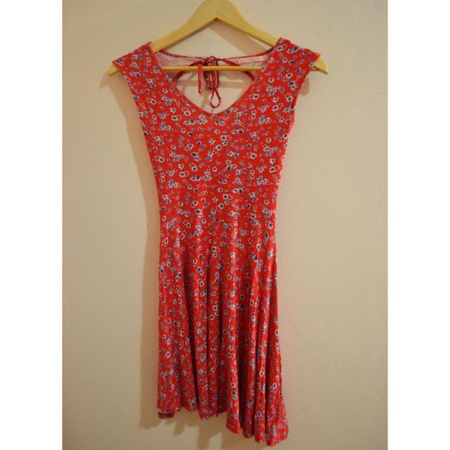 Spanish Red Dress