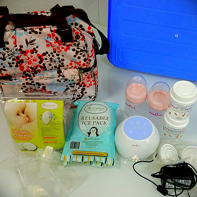 cdc0a0e769 Spectra M1 Electric Two Side Breast Pump.