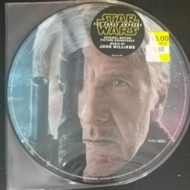 Starwars The Force Awakens Vinyl Soundtrack