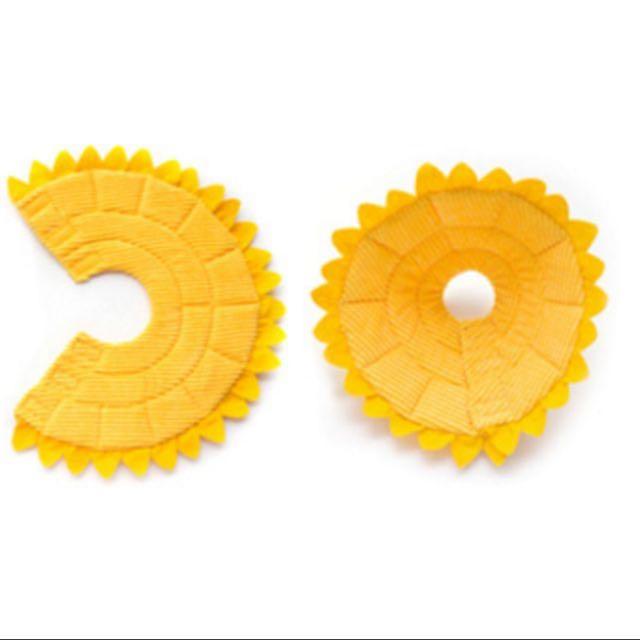 [RESTOCKED!] Yellow Sunflower Soft E-Collar