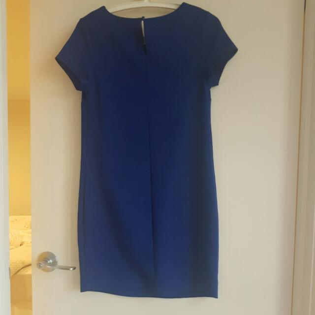 Temt Blue Dress S SIZE
