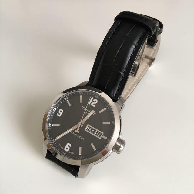 d5f291458 REDUCED] Tissot PRC200 Powermatic 80 Men's Automatic Watch, Luxury ...