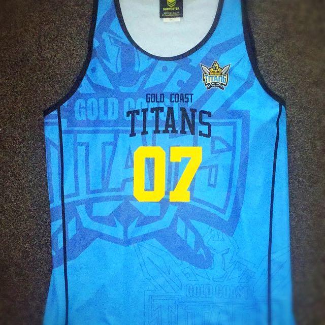 Titans Nines Singlet