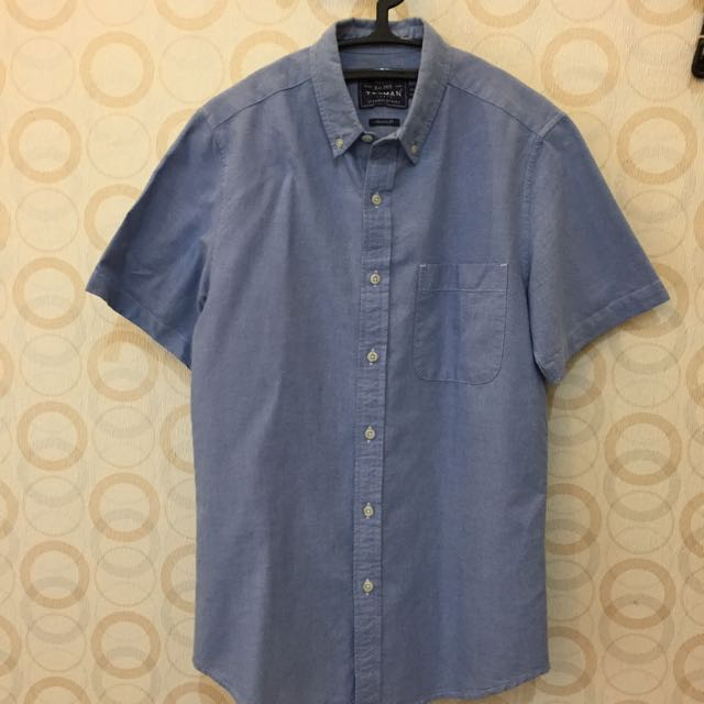 Topman Baby Blue Shirt