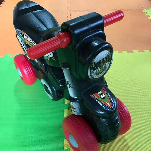 Toy Motorbike Black and Red