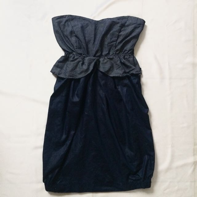 Gaudi Tube Dress Dark Blue