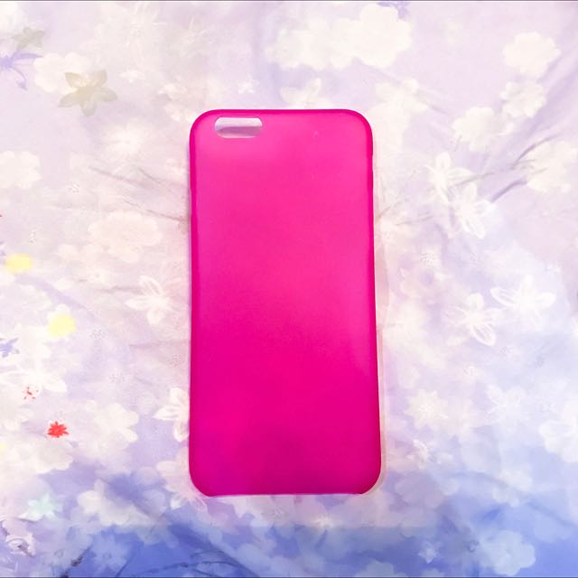 ultra thin case for Iphone 6/6S [Pink]