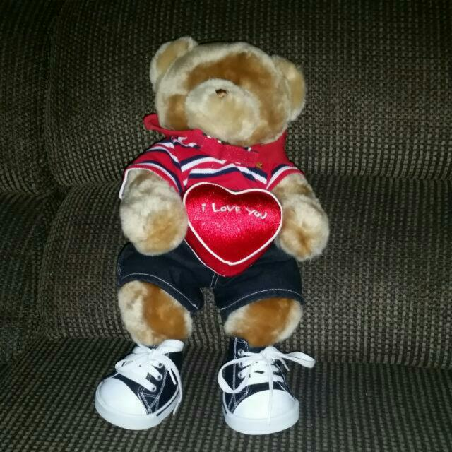 Valentines Build A Bear