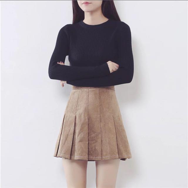 Velvet Tennis Skirt