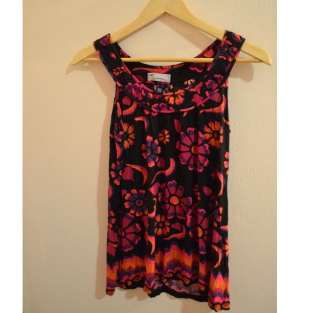Vibrant Patterned Top