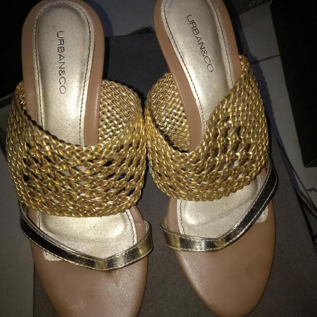 Wedges Golds Urban&Co
