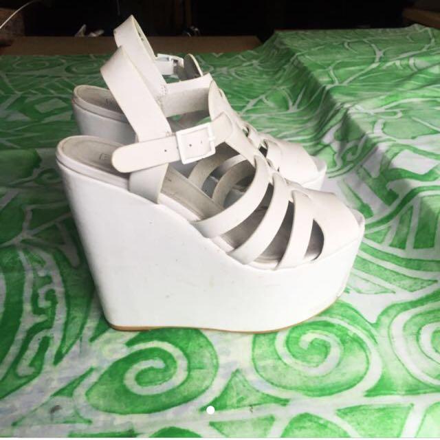 White Roc Heels