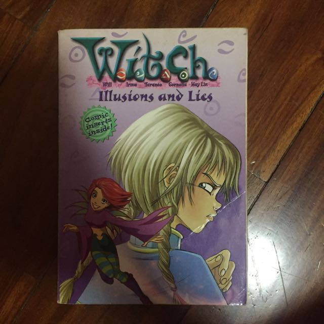 W.I.T.C.H. Novel Illusions and Lies