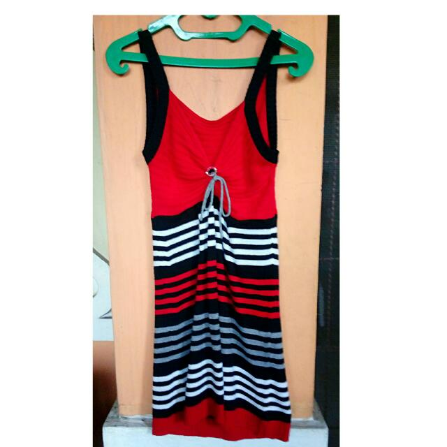 Wool Dress / Dress Rajut / Terusan Rajut / Dress / Mini Dress / Casual Dress