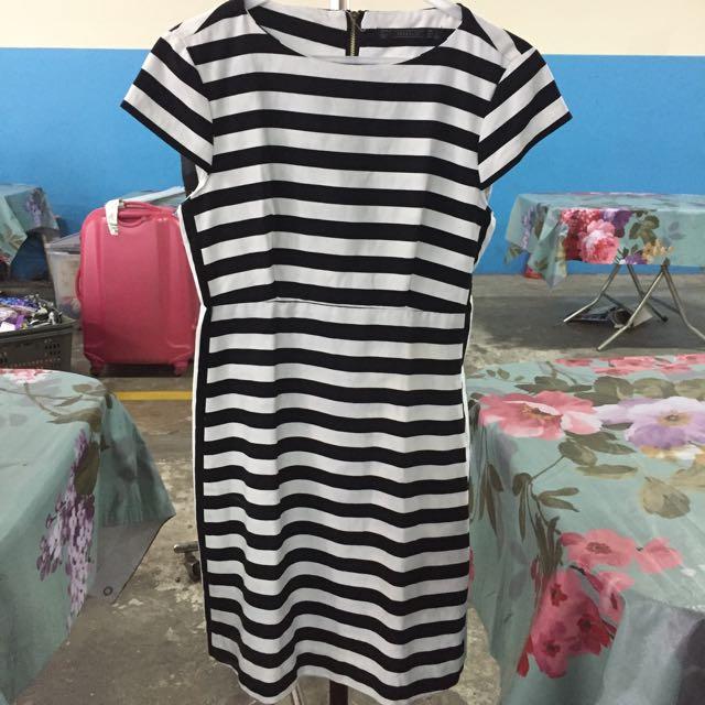 Zara Strip Dress Original