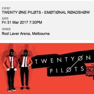 Twenty One Pilots Melbourne Concert
