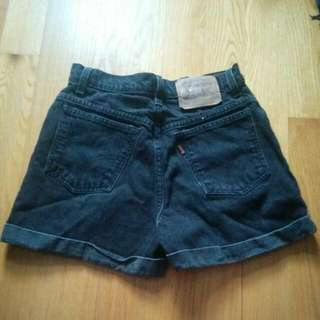 Vintage Levi High Waisted Shorts