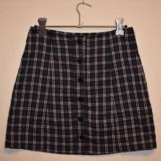 Check Skirt Size 6