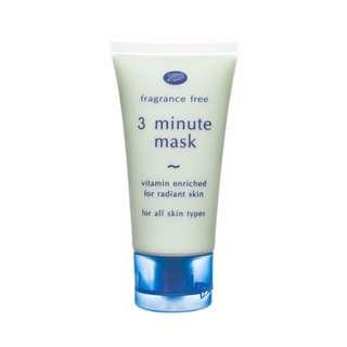 BN Boots 3 Minute Mask for Radiant Skin (Fragrance skin, cucumber)