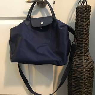Authentic Longchamp Neo Bag With Detachable Strap