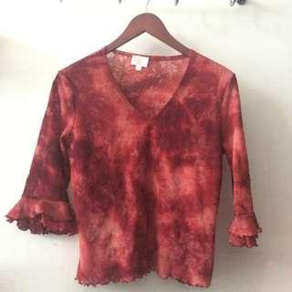 Vintage Bell Sleeve Shirt