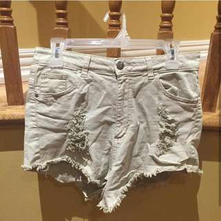 Urban Outfitters ultra high rise Cali shorts