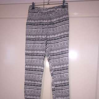 Glassons Patterned Pants Size 6