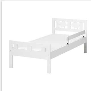 IKEA Kids Bed And Mattress (KRITTER)