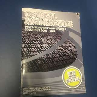 General Mathematics Past Papers Textbook