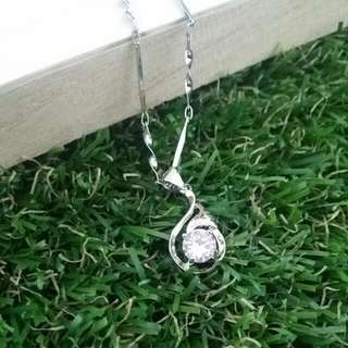 S925 silver Korean Style Necklace