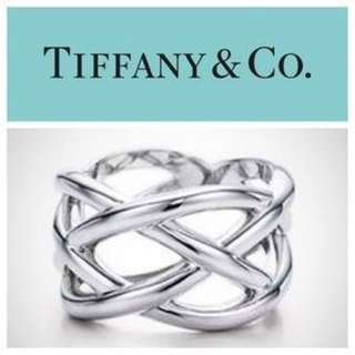 Authentic Tiffany & Co. Celtic Knot Ring