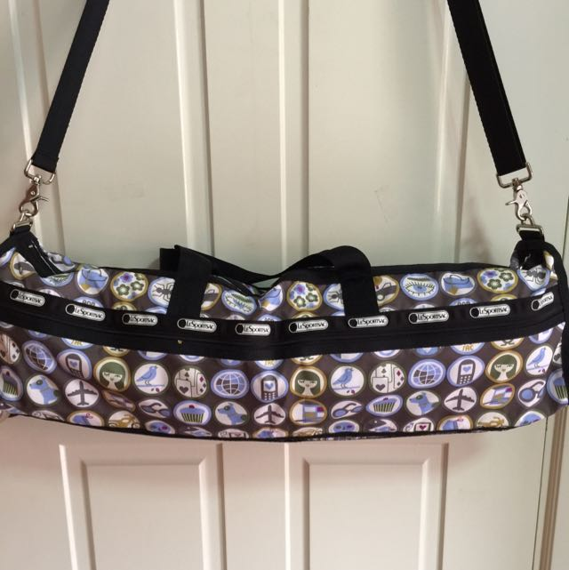 100 Authentic Lesportsac Yoga Mat Bag Sports Equipment On Carou