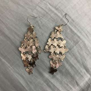 Butterfly Dangling Earrings