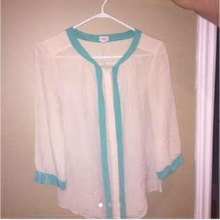 T.babaton Silk Blouse