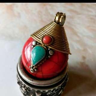 西藏紅蜜蠟飾品