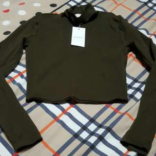 Kookai Circa Long Sleeve Top Size 1