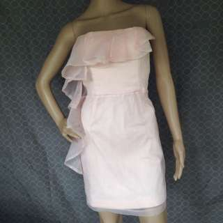 Bardot Pastel Pink Dress