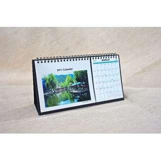 客製化雙桌曆