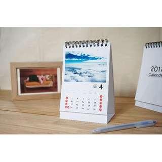 客製化直立桌曆