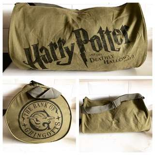 HARRY POTTER Barrel Duffle Bag - The Deathly Gallows Part 2