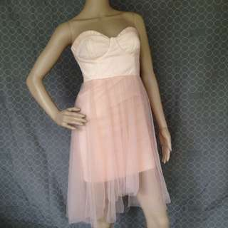 New Bershka Pastel Pink Dress