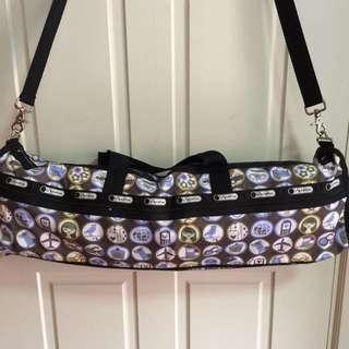 100% Authentic LeSportsac Yoga Mat Bag