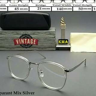 Kacamata Vintage Korea (Bisa Minus)